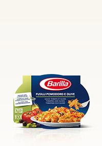 Fusilli mit Tomate und Olive