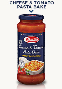 Cheese & Tomato Pasta Bake