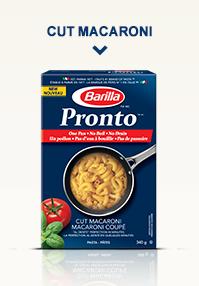 Barilla® Pronto™ Cut Macaroni