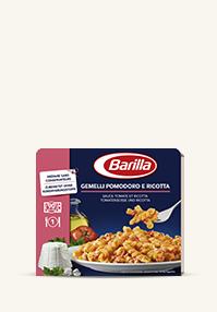Gemelli mit Tomate und Ricotta