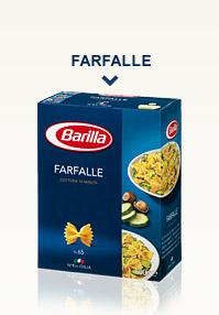 Variétés de Pâtes Classiques - Farfalle