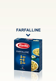 Variétés de Pâtes - Farfalline