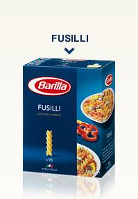 Variétés de Pâtes - Fusilli
