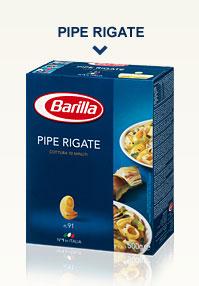 Variétés de Pâtes Classiques – Pipe Rigate