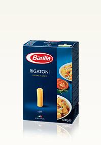 Les Différentes Pâtes Barilla - Rigatoni