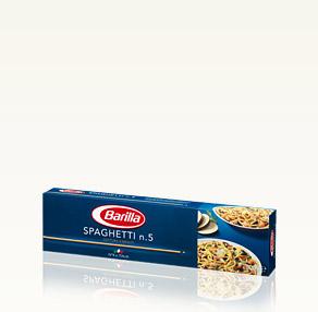 Pâtes Classiques Spaghetti n.5