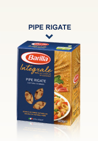 Pâtes Intégrales Pipe Rigate