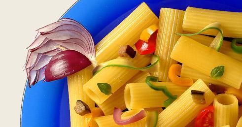 Recette avec Pâtes et Légumes
