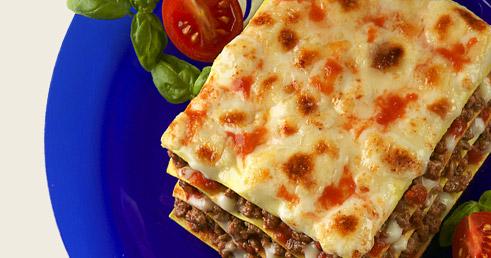 Recette avec des Pâtes – Lasagne