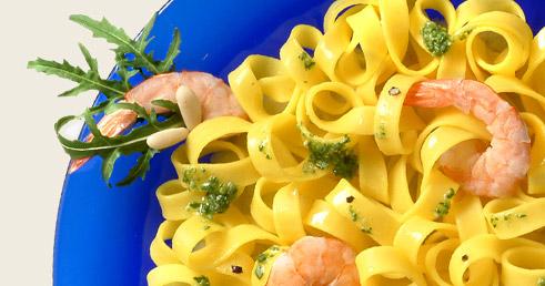 Recette avec Pâtes et Crevettes