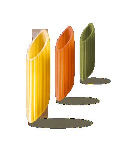 Mezze Penne Tricolore