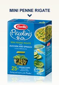 Mini Penne Rigate con Zucchine e Spinaci