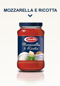 Mozzarella & Ricotta domates sosu