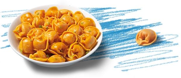 Fagottini con Pomodoro e Mozzarella