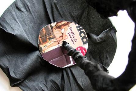 <p>Per l'ombrellino, formare ...