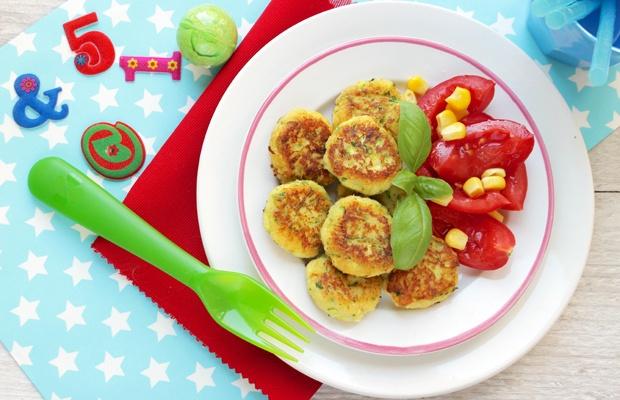 Polpettine di ricotta con zucchine