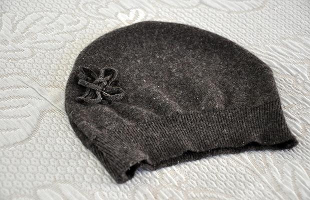 Il berretto riciclato