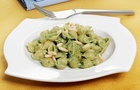Mini Conchiglie Rigate Super al pesto di Spinaci