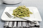 Mini Farfalle al pesto di spinaci