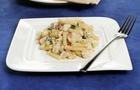 Mini Tortiglioni con zucchine, pollo e pomodori