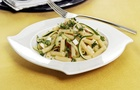 Mini Tortiglioni in insalata con mozzarella, pomodori e zucchine