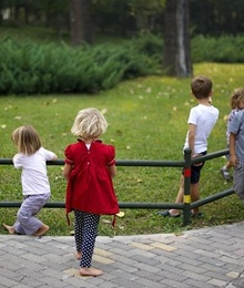 Giochi all'aperto: Trova la strada giusta
