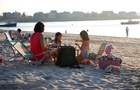 Pic-nic in spiaggia sotto le stelle