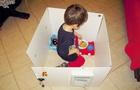 I giochi dei vostri bambini: le casette di cartone!