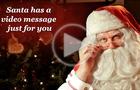 Un videomessaggio da Babbo Natale