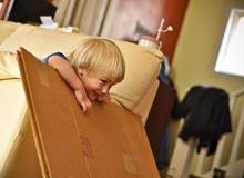 5 cose da fare con una scatola di cartone