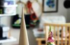Tutorial per costruire alberi di Natale di carta